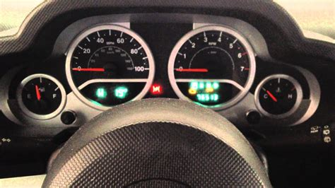 How to Reset & Turn Off Change Oil Light in 2010 Jeep