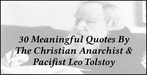Christian Pacifism Quotes